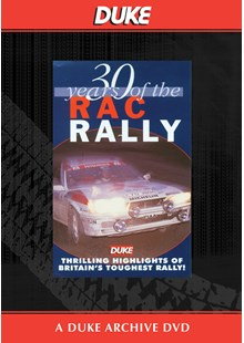 30 Years Of The RAC Rally Duke Archive DVD