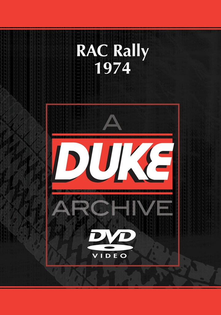 RAC Rally 1974 Duke Archive DVD