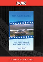 Galway And Donegal Rallies 1989 Duke Archive DVD