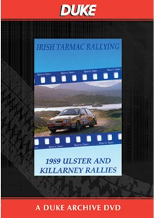 Ulster and Kilarney Rallies 1989 Duke Archive DVDs