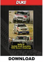 Rally of United Arab Emirates 1992 - Download