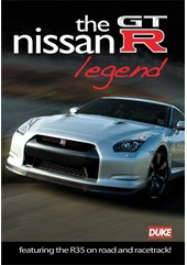 Nissan GTR Legend DVD