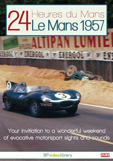 Le Mans 1957 DVD - click to enlarge