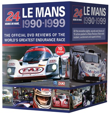 Le Mans Collection 1990-99 (10 DVD) Box Set - click to enlarge