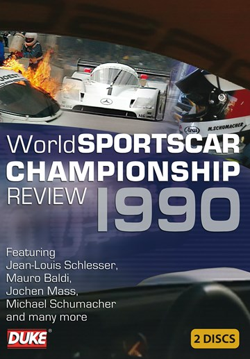 World Sportscar 1990 Review (2 DIsc) DVD - click to enlarge