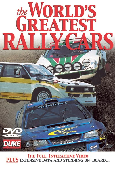 World's Greatest Rally Cars DVD