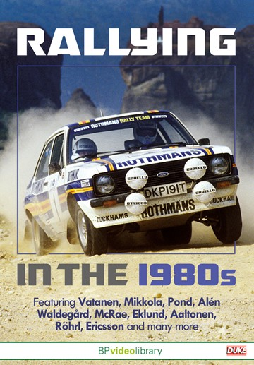 Rallying in the 1980s DVD - click to enlarge