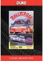 European Rallycross Championship 1987 Rounds 1 & 2 Duke Archive DVD