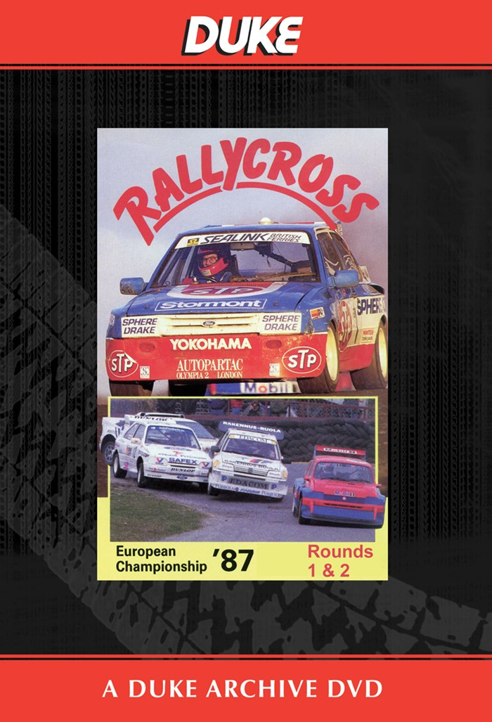 European Rallycross Championship 1987 Rounds 1 & 2 Duke Archive DVD