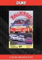 European Rallycross Championship 1987 Rounds 3 & 4 Duke Archive DVD