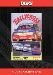 European Rallycross Championship 1987 Rounds 3 & 4 Duke Archive DVD