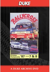 European Rallycross Championship 1987 Rounds 7 & 8 Duke Archive DVD