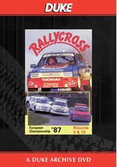 European Rallycross Championship 1987 Rounds 9 & 10 Duke Archive DVD