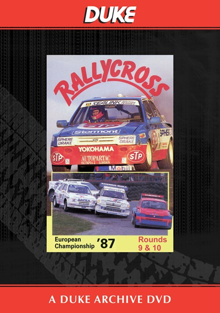 European Rallycross Championship 1987 Rounds 9 & 10 Duke Archive DVD