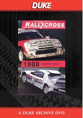 European Rallycross Championship 1988 Rounds  1 & 2 Duke Archive DVD