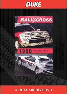 European Rallycross Championship 1988 Rounds  1 & 2 Duke Archive DVD