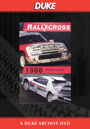 European Rallycross Championship 1988 Rounds  1 & 2 Duke Archive DVD - click to enlarge