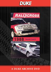 European Rallycross Championship 1988 Rounds 3 & 4 Duke Archive DVD