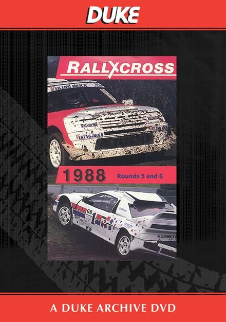 European Rallycross Championship Rounds 5 & 6 Duke Archive DVD