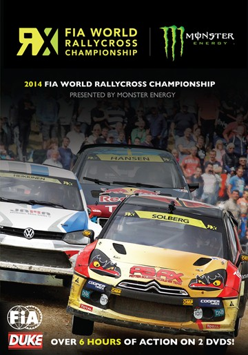 FIA World Rallycross 2014 Review (2 Disc) DVD - click to enlarge