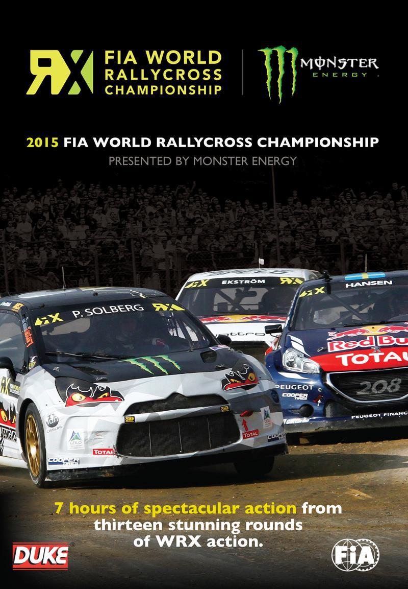 FIA World Rallycross 2015 (2 Disc) DVD : Duke Video