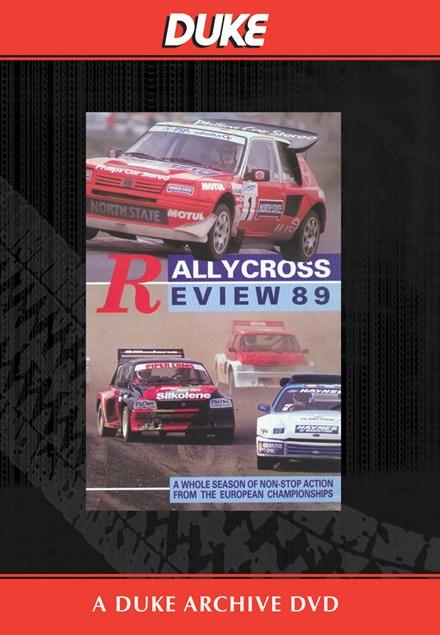 European Rallycross Review 1989 Duke Archive DVD