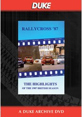 British Rallycross Championship 1987 Duke Archive DVD