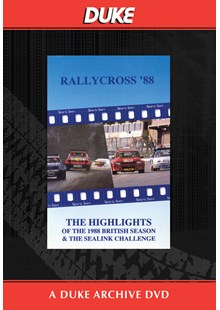 British Rallycross Championship 1988 Duke Archive DVD
