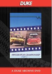 European Rallycross Championship 1989 Part 2 Duke Archive DVD