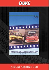 European Rallycross Championship 1989 Part 2 Duke Archive DVD