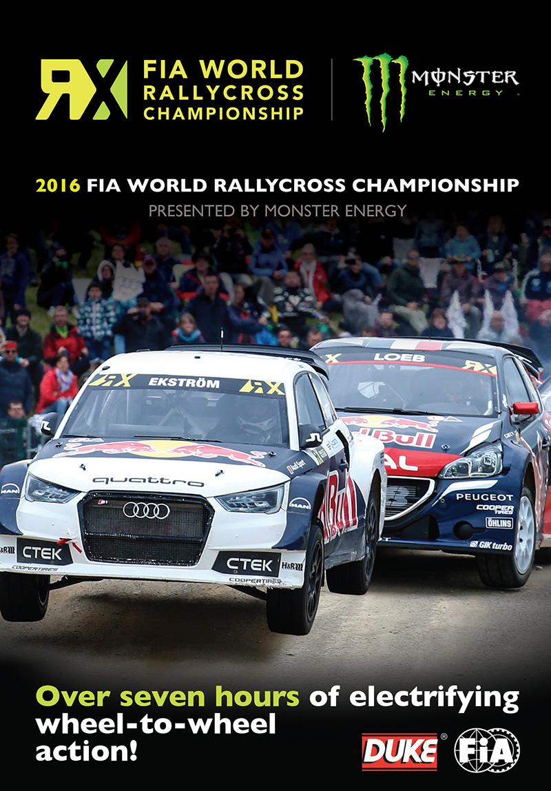 FIA World Rallycross 2016 (2 Disc) DVD : Duke Video