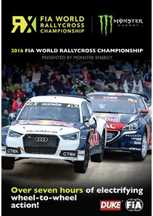 FIA World Rallycross 2016 (2 Disc) DVD