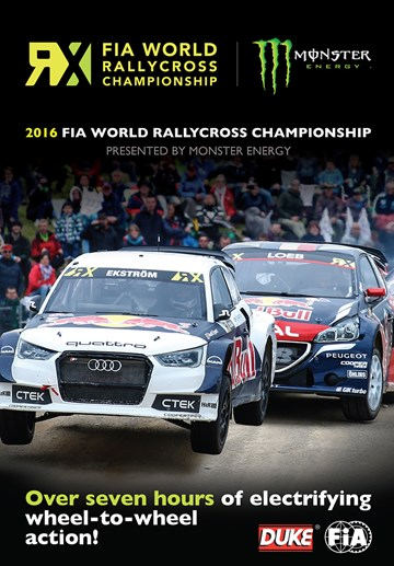 FIA World Rallycross 2016 (2 Disc) DVD - click to enlarge