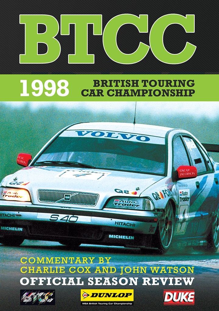 BTCC 1998 Review DVD
