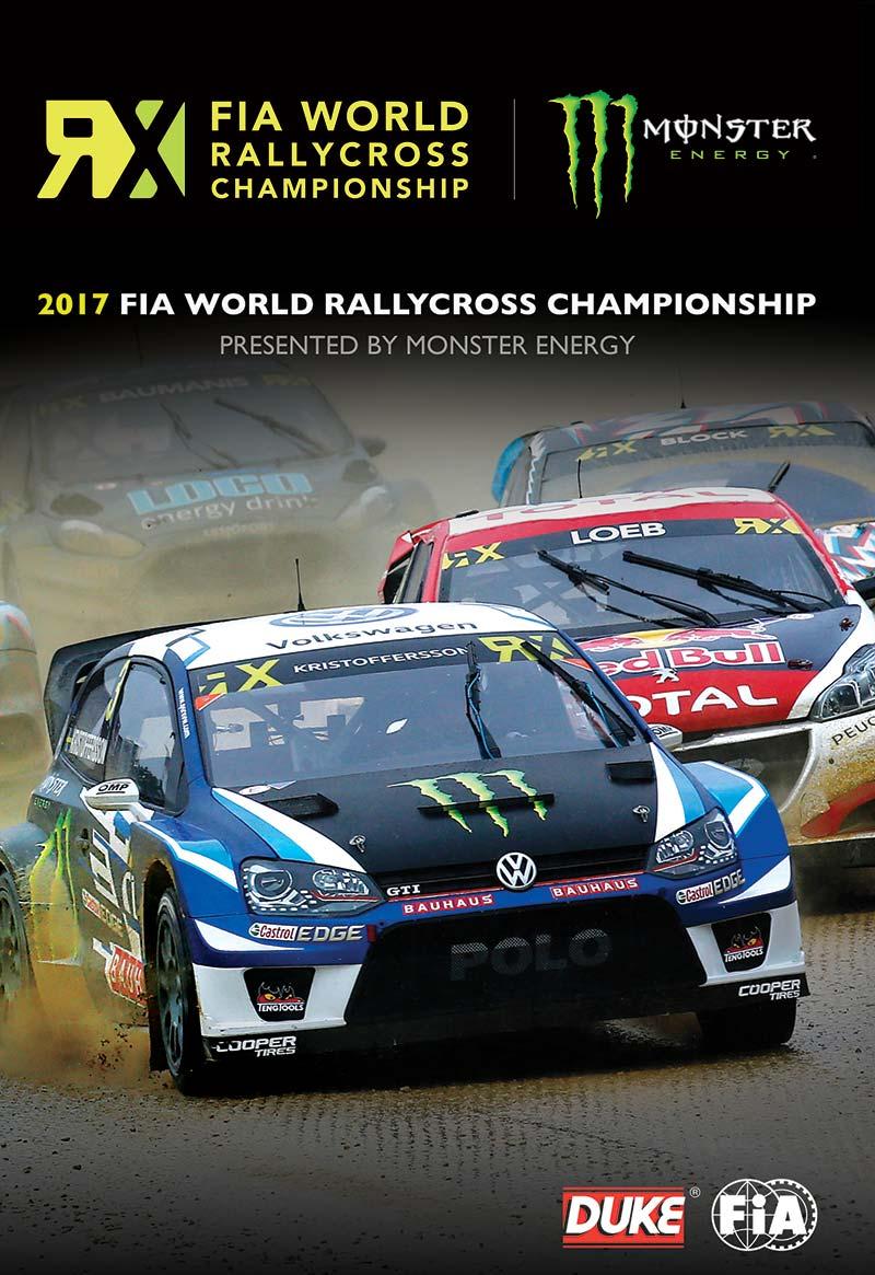 FIA World Rallycross 2017 (2 Disc) DVD : Duke Video