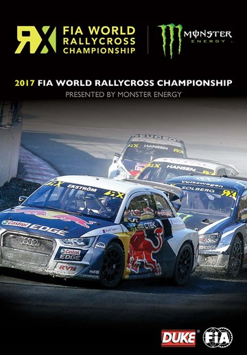 FIA World Rallycross 2017 (2 Disc) DVD - click to enlarge