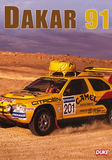 Dakar Rally 1991 DVD - click to enlarge
