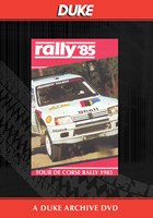 Tour De Corse Rally 1985 Duke Archive DVD