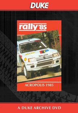 World Rally 1985 Acropolis Duke Archive DVD
