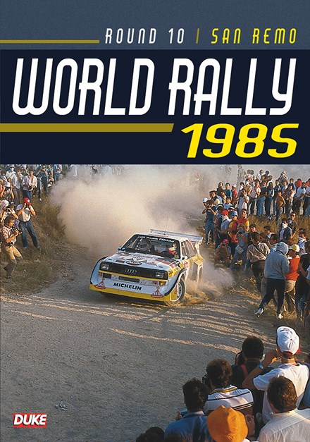 World Rally 1985 San Remo Duke Archive DVD