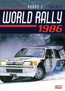 Swedish Rally 1986 Duke Archive DVD