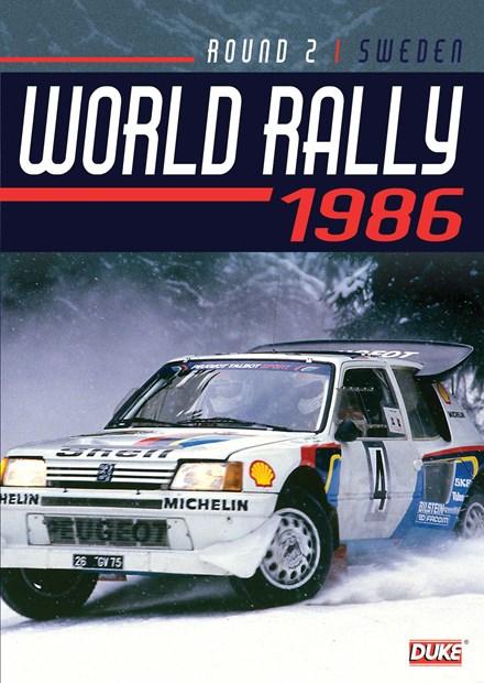 Swedish Rally 1986 Duke Archive DVD