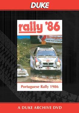 Portuguese Rally 1986 Duke Archive DVD