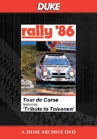 World Rally 1986 Tour De Corse Duke Archive DVD