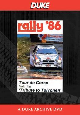 World Rally 1986 Tour De Corse Duke Archive DVD