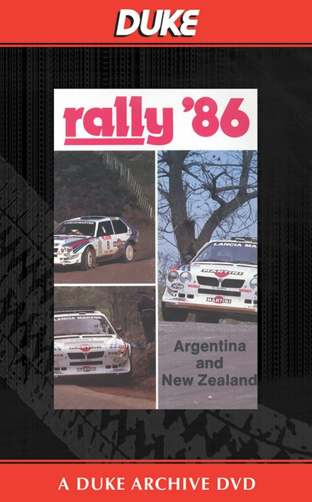 New Zealand & Argentinian Rallies 1986 Duke Archive DVD