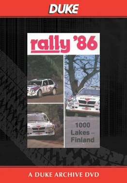 World Rally 1986 1000 Lakes Duke Archive DVD