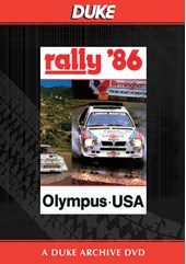 World Rally 1986 Olympus USA Duke Archive DVD
