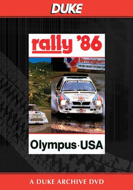 World Rally 1986 Olympus USA Duke Archive DVD