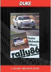 Manx International Rally 1986 Duke Archive DVD